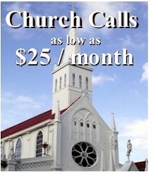 church call registration